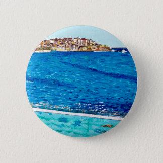 Bondi Blues 6 Cm Round Badge