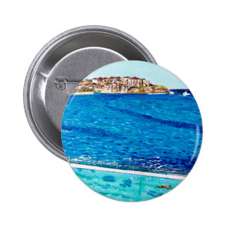 Bondi Blues 6 Cm Round Badge