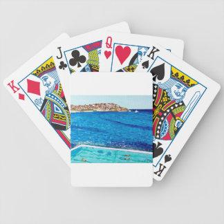Bondi Blues Bicycle Playing Cards
