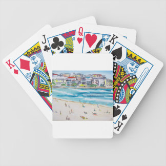 Bondi Blues Bicycle Playing Cards