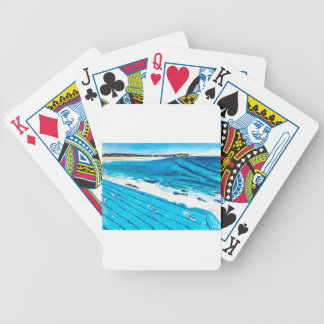 Bondi Icebergs (Feb 18) Bicycle Playing Cards