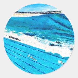 Bondi Icebergs (Feb 18) Classic Round Sticker