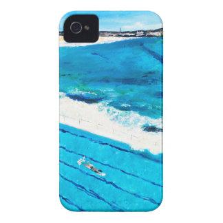 Bondi Icebergs (Feb 18) iPhone 4 Case-Mate Cases