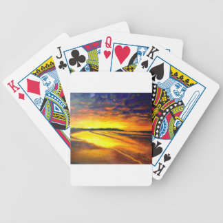 Bondi on Dusk Bicycle Playing Cards