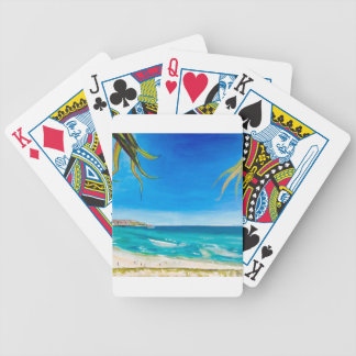 Bondi Sky Bicycle Playing Cards