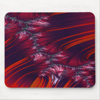 Bonding Ice on Frozen Lake Fractal 2 Mouse Pad
