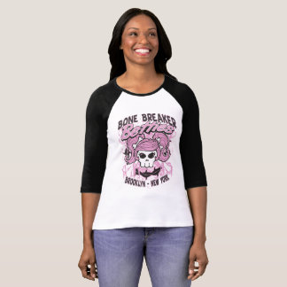 Bone Breaker Betties Roller Derby T-shirit T-Shirt