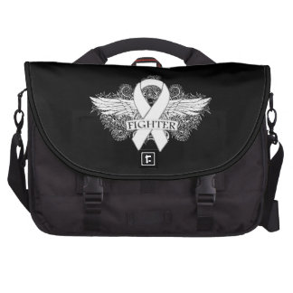 Bone Cancer Fighter Wings Laptop Bags