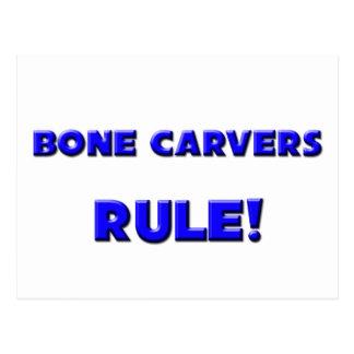 Bone Carvers Rule! Post Card