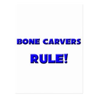 Bone Carvers Rule! Postcard