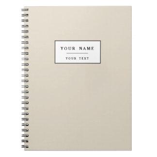 Bone Classic Colored Note Book