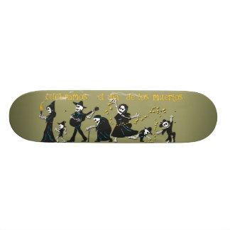 Bone Deck™ - Dancing Muertos Skateboard Deck