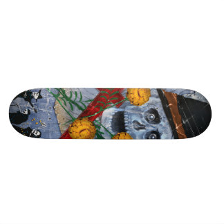 Bone Deck™ - Muertos and Marigolds Skate Deck
