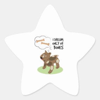 Bone Dream Star Sticker