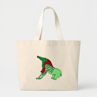 Bone Eater Large Tote Bag