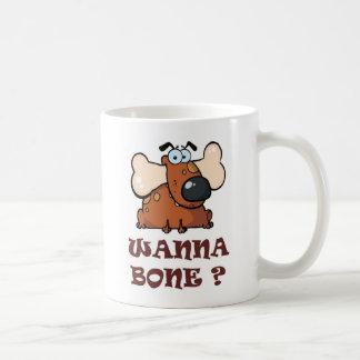 Bone Full Basic White Mug
