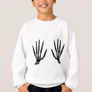 Bone Hands Isolated Sweatshirt