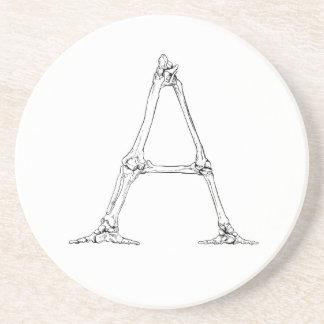 Bone Letter - A Coaster