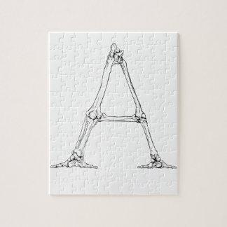 Bone Letter - A Jigsaw Puzzle