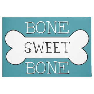 Bone Sweet Bone Dog Welcome Mat - Pick Your Color