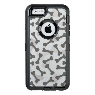 Bone Texture Pattern Greyscale OtterBox iPhone 6/6s Case