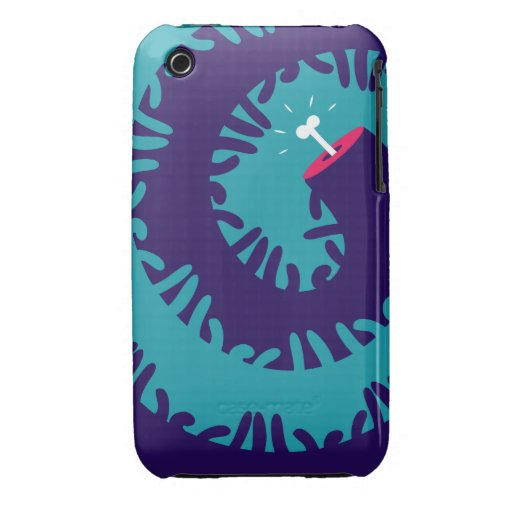 Bone twirl iPhone 3 Case-Mate case