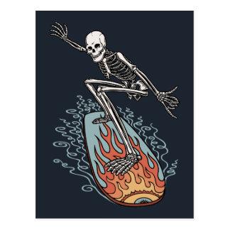 Bonehead Board Dude Postcard
