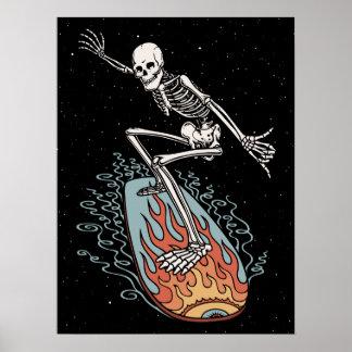 Bonehead Board Dude Print