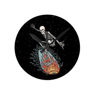 Bonehead Board Dude Wallclock