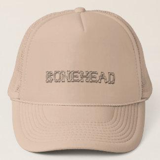 bonehead trucker hat