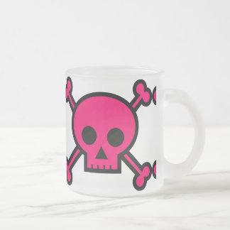 bones-156548 bones crossbones girly pink poison p mugs