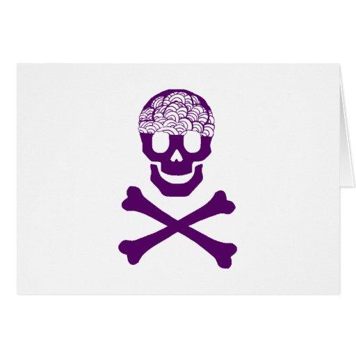 Bones and Brains Greeting Card