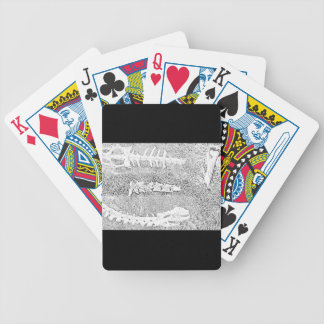 Bones Coloring Project DIY Adult Coloring Bicycle Playing Cards