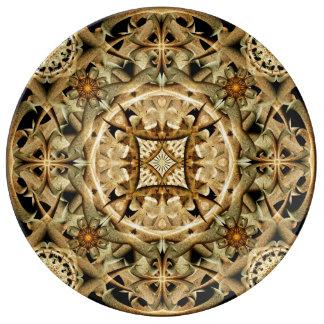 Bones Mandala Porcelain Plates