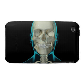 Bones of the Head and Neck 2 iPhone 3 Cover