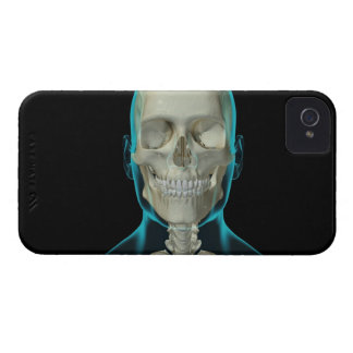 Bones of the Head and Neck 2 iPhone 4 Cover