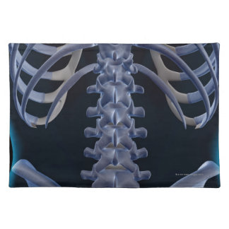 Bones of the Lower Back 2 Place Mats