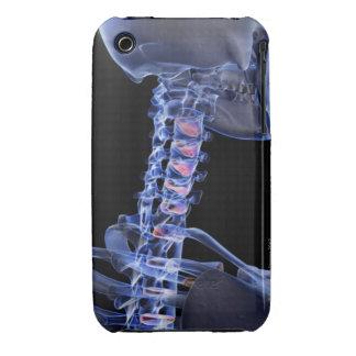 Bones of the Neck 3 iPhone 3 Case-Mate Cases