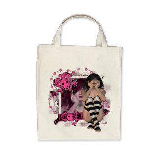 Bones - Organic Grocery Tote Bags