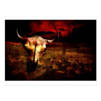 Bones, Wind, and Dust Postcard