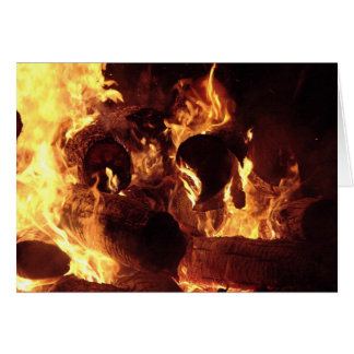 Bonfire #1 card
