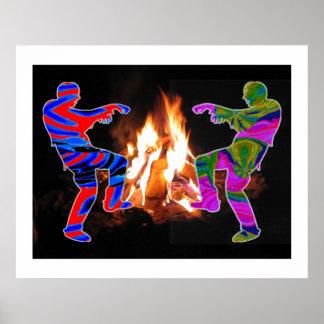 BonFire Bon Fire LightShow  : ENJOY  share JOY Poster
