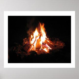 BonFire Bon Fire LightShow  : ENJOY  share JOY Posters