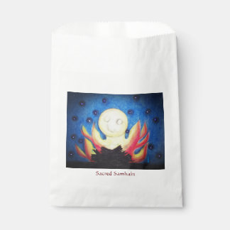 Bonfire Moon Samhain Witch Wiccan Pagan Favour Bag