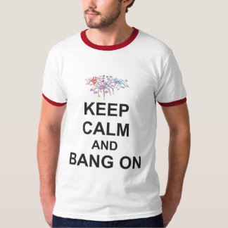Bonfire Night 5th Nov T-Shirt KEEP CALM and BANGON
