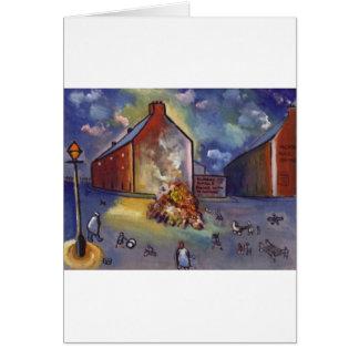 BONFIRE NIGHT CARD