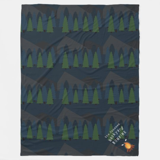 Bonfire Party Fleece Blanket