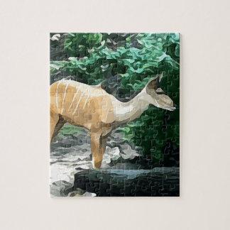 Bongo from Safari Jigsaw Puzzle