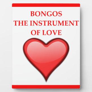 BONGOs Plaque