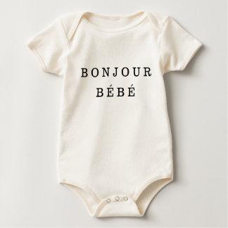 """Bonjour Bébé"" Baby Bodysuit"